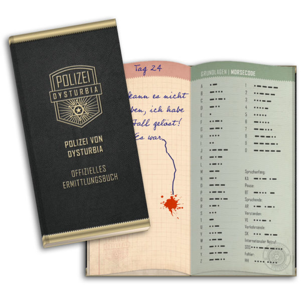 Crime Letters Notizbuch