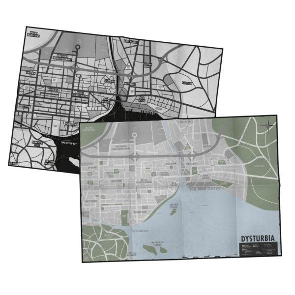 Stadtplan von Dysturbia